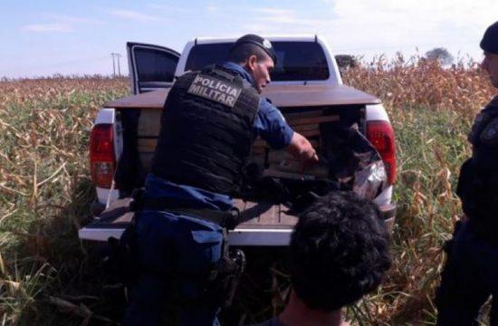 homem é preso em ms com 1 tonelada de maconha