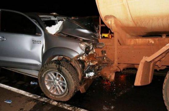 acidente em Nova Andradina